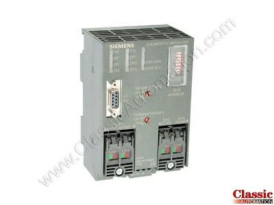 Siemens 6es7972-0ab01-0xa0 Diagnose-repeater For Profibus Dp Refurbished