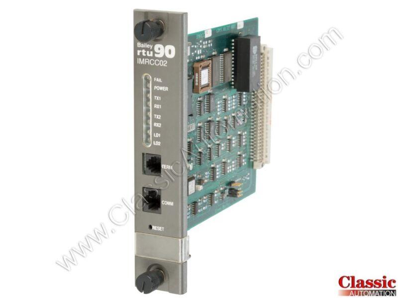 ABB, Bailey | IMRCC02 | CPU and Communication Module (Refurbished)