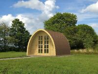 Camping Pods and BBQ Huts