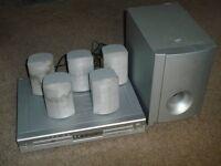Surround Sound Speakers & DVD Player