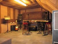 Music studio/rehearsal place/practice room in East London/Stratford/Canning town