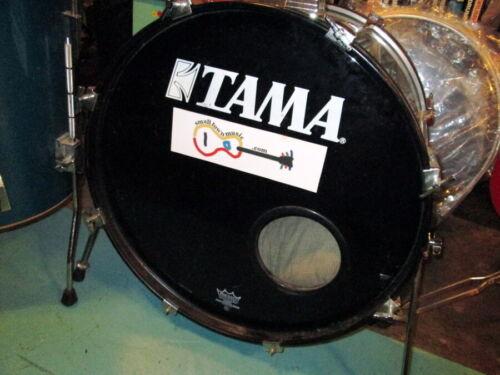 "Tama Rockstar 13x10/16x16/16x22"" 3pc vintage drums Shell Pack circa 1990s Blue"