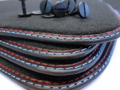 Passform-Velours-Fußmatten für BMW 3er E90 E93 Autofussmatten in grau