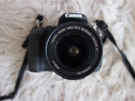 CANON 650D DSLR CAMERA WITH LENS AND ACCESSORIES