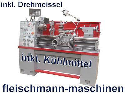 Holzmann Metalldrehmaschine ED1000KDIG 1000mm 3-Achs-Dig.Anz Spindelbohrung 55mm