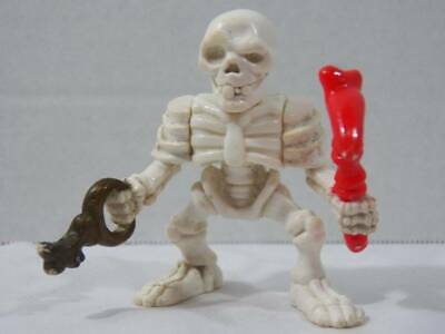 ~Fisher Price~ 1998 Great Adventures Dungeon Trap Skeleton Pirate Figure