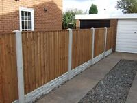 Heavy Duty Fence Panel Supplies (Fitting Available)