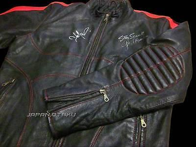 Signed George A Romero & John Leguizamo Land of the Dead Cholo Replica Jacket