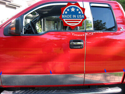 "2004-2008 Ford F-150 Super/Extended Cab Rocker Panel Trim 7"" -CHOOSE ONE BELOW"