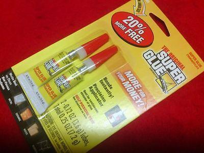 12303 The Original Super Glue 2pk New Larger Size 20 More Free