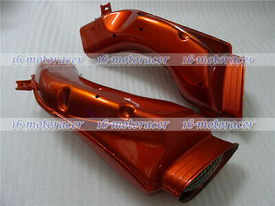 Ram Air Intake Tube Duct Cover Fairing Fit for GSXR 600/750 2001-2003 Orange New