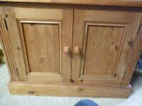 Solid Pine Sideboard/Cupboard