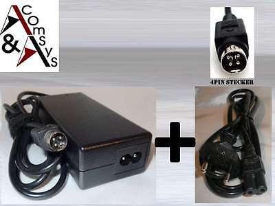 Netzteil AC Adapter für Medion MD 30288 TV TFT LCD LCD-TV 12V 4Pin 4 Polig #1205 - Lcd Ac Adapter