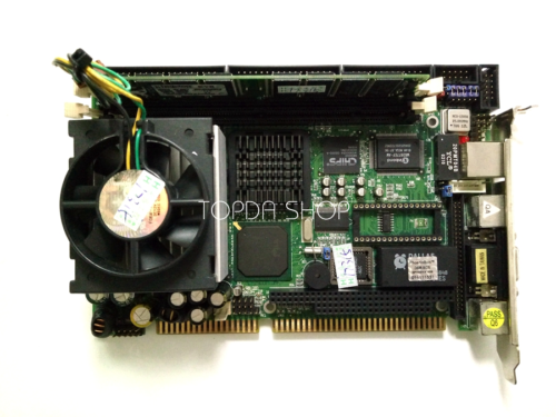 Used Industrial computer motherboards HS6637 Ver 2.1