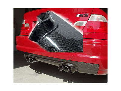 Para BMW m3 Csl 3er Cabrio Difusor Trasero Delantal Aletas