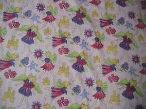 SALE Robert Allen Fabrics Fairies on Pink Susan Sargent Dupont Teflon Upholstery
