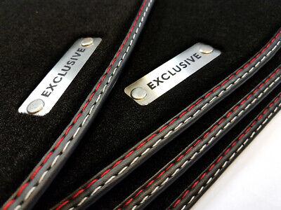 Exclusive Fußmatten für Mercedes R-Klasse W251 2005-2013 Kurze Version Velours