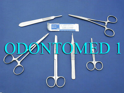 Dog Ear Suture Kit Surgical Veterinary Instruments