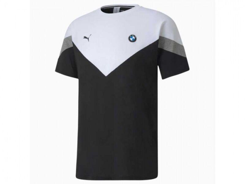 Puma BMW M Motorsport Black MCS Tee Shirt