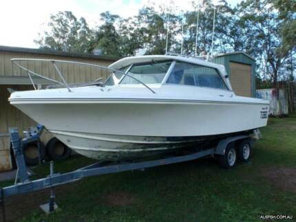 CARIBBEAN 23FT CRUSADER SPORTS CRUISER UNFINISHED PROJECT