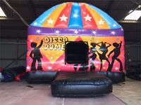 Bouncy Castle Hire, Disco Dome, Face Painting, Popcorn/Candyfloss & Mascot Hire. Call 0790 3639800