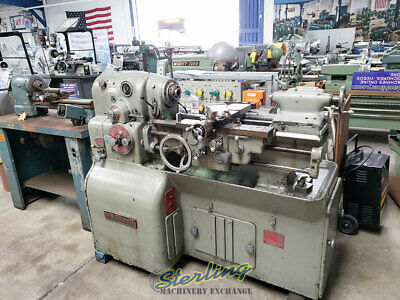 12.5 X 20 Used Monarch Precision Toolroom Lathe Heavy Duty High Precision Md