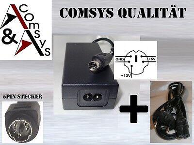 Netzteil Adapter 12V 5V 2A 2.5A 3A extern Gehäuse Teak HD-35PUK WD Sincho 5Pin