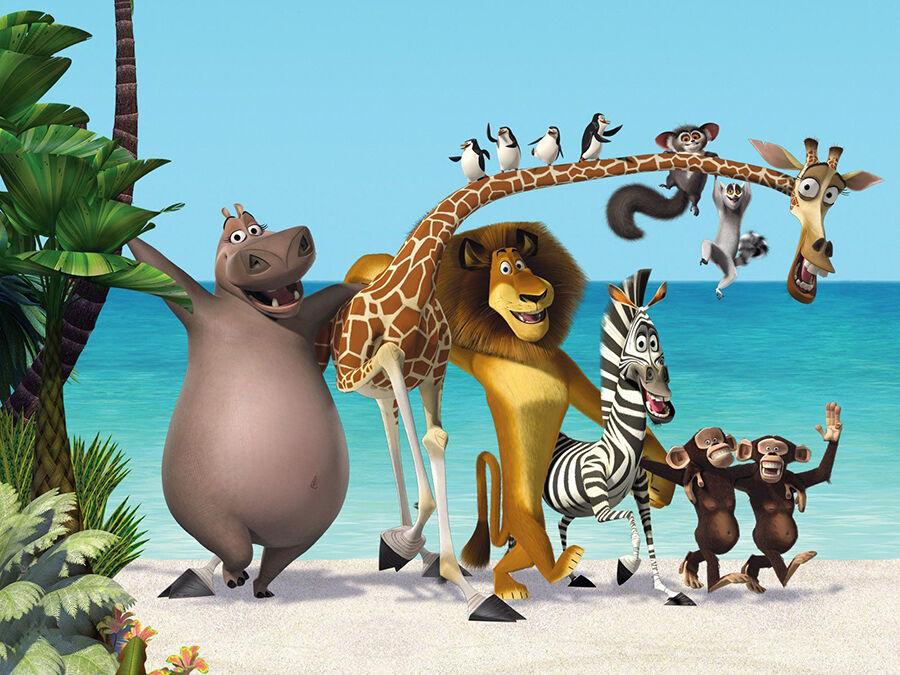 Die Stimmen der Madagascar-Tiere - wer spricht wen
