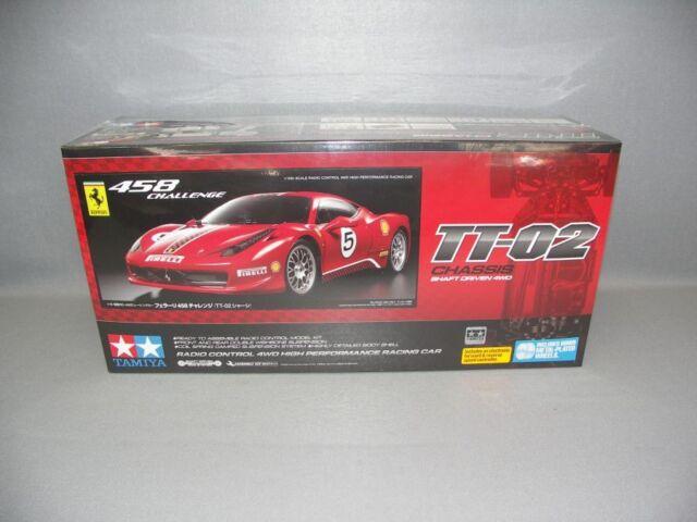 TAMIYA 1:10 Ferrari 458 Challenge TT-02 - Art.Nr. 300058560 - Bausatzmodell