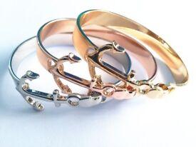 Anchor Cuff Bracelet