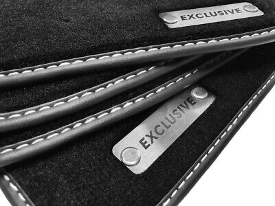 Logo Exclusive Fußmatten Mercedes-Benz CLK C209 Bj.Velours