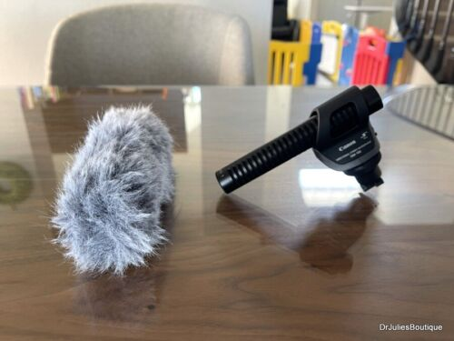 Canon DM-100 Directional Stereo Microphone for HF/HG Vixia Camcorders ~ MINT