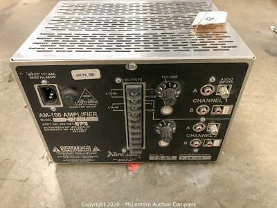 Allen Organ AM-100 Dual Amplifier (2 Channel)