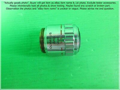 Olympus Neo Splan 5 Nic 5x0.13 - F180 Objective Lens As Photo Sn1831.