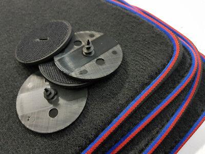 ab 04.2008 Fußmatten 4-teilig in Velours Deluxe grau Für BMW 1er E88 Cabrio Bj