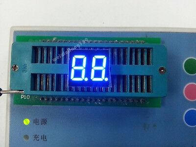 10pcs 0.36 Inch 2 Digit Led Display 7 Seg Segment Common Anode Blue 0.36