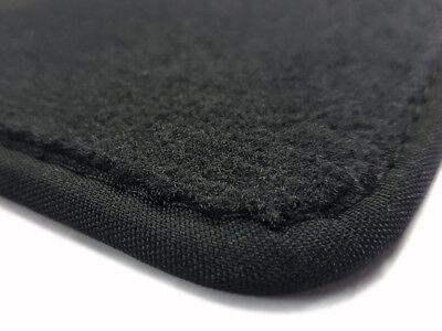 Kofferraummatte Fußmatten für Mercedes-Benz SLK-Klasse R171 Schwarz Velours