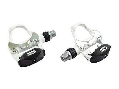 Par de pedales automaticos Wellgo R251 - blanco - keo