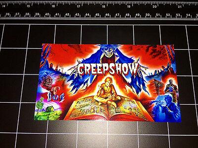 CREEPSHOW 80's movie logo vinyl decal sticker halloween comic horror 1980s - 80's Halloween Movies