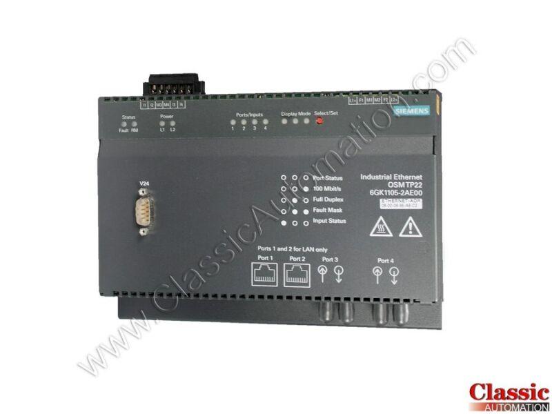 Siemens   6GK1105-2AE00   Industrial Ethernet OSM TP22 (Refurbished)