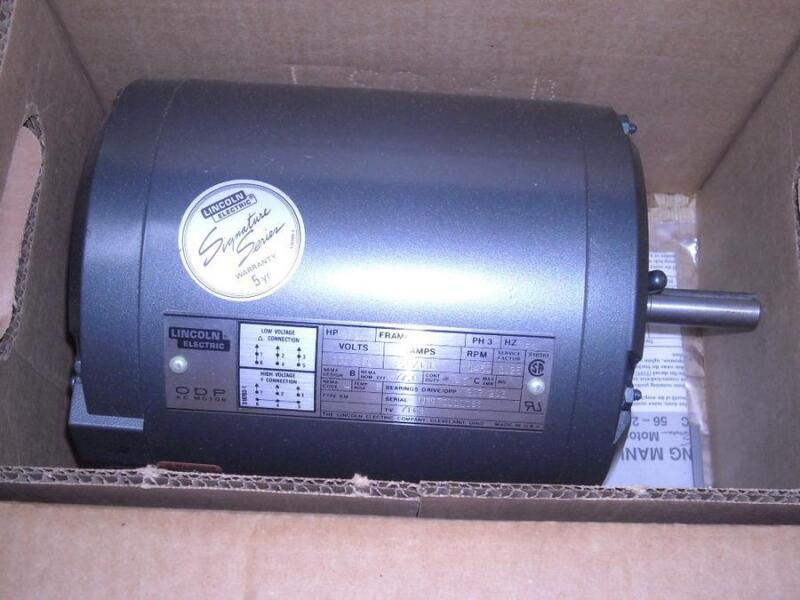 LINCOLN RD4S0.75T51/LM10926 3/4 HP ELECTRIC MOTOR 10903