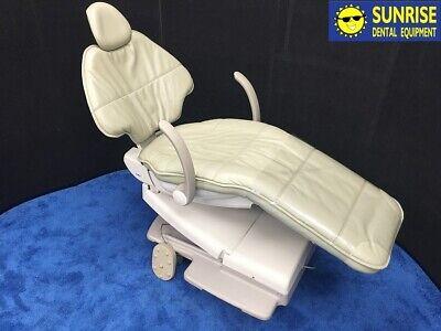 ADEC 511 Dental Patient Chair - Plush Style, Ultraleather ALOE Color