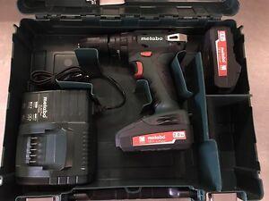 Metabo SB 18 Akkuschrauber mit Schlagwerk 18 Volt + 2 Akku + Koffer - 2. Wahl #T