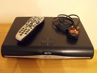 Sky HD Box plus power cables and remote