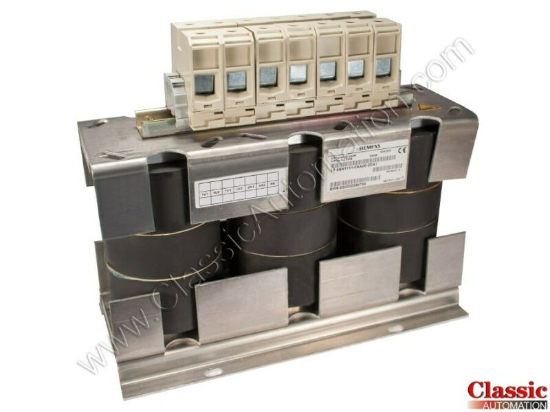 Siemens | 6SN1111-0AA00-0DA1 | Line Reactor (Refurbished)