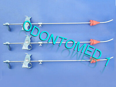 3 Spackman Cannula Uterine Surgical Gynecology Instruments