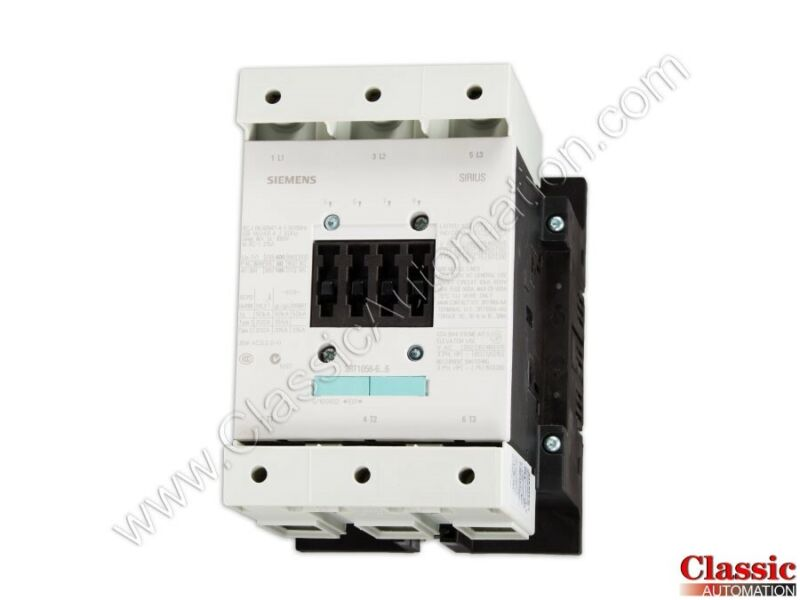 Siemens | 3RT1056-6AB36 | CONTACTOR NONREV S6 185A 23-26V 3P BAR (Refurbished)
