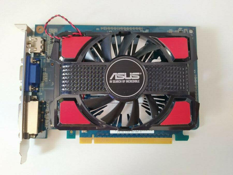 ASUS GT730 4 GB Grafikkarte VGA DVI HDMI aktiv 1 Slot schwarz