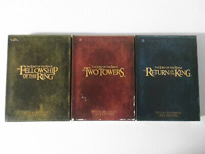The Lord of the Rings Trilogy Special Extended Edition DVD Box Set All 3