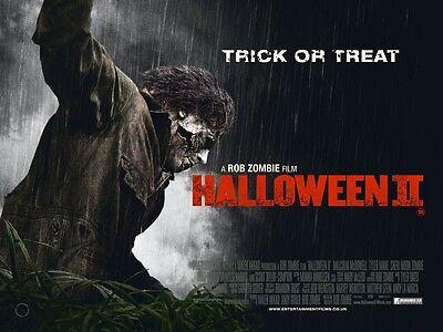 Halloween II Film Poster: 30.5x40.6cm Rob Zombie (Style A)